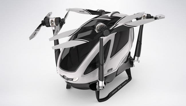 Ehang184, Autonomous Aerial Vehicle (AAV). Gilitadas