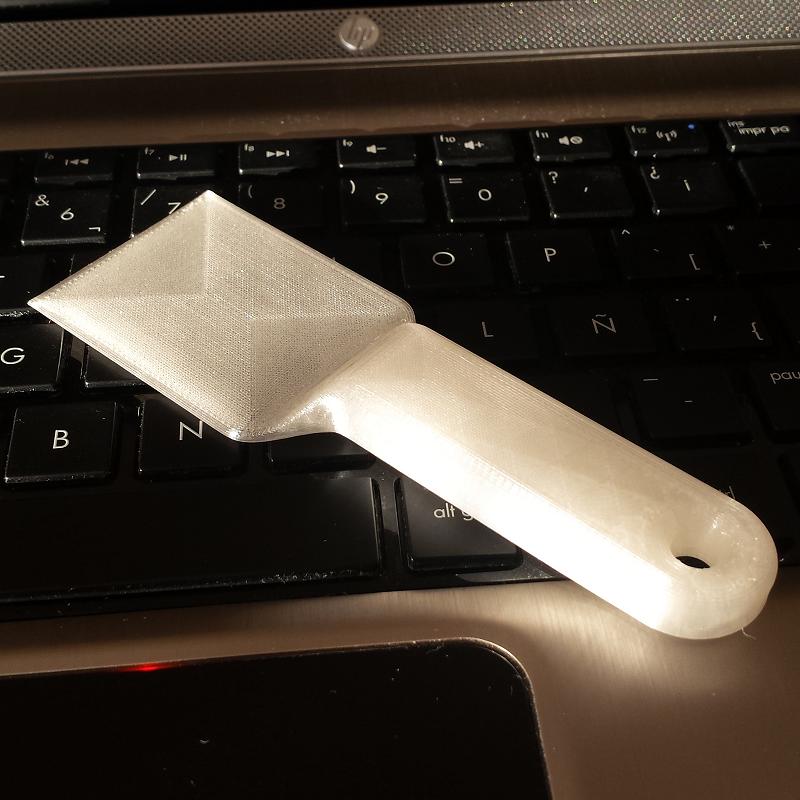 Espátula. Impresión 3D Gilitadas