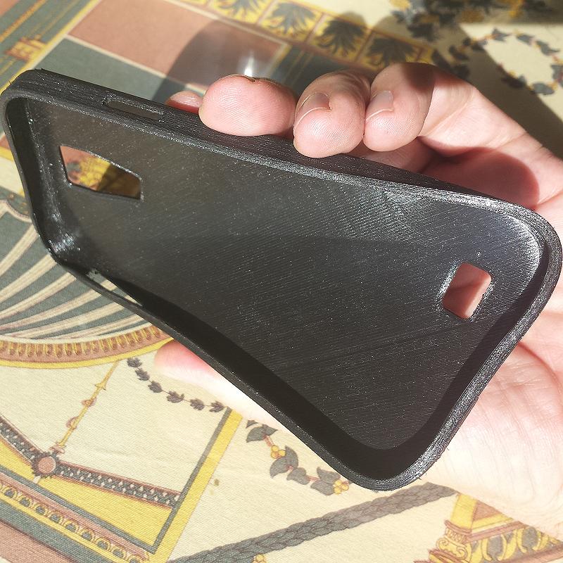 Funda para teléfono. Impresión 3D. Gilitadas