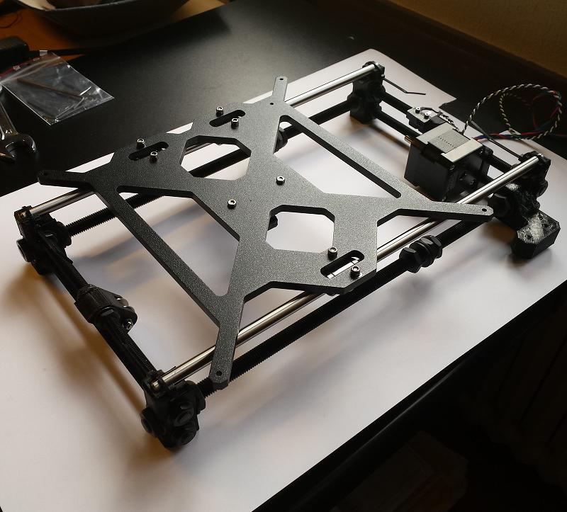 Construcciín impresota Prusa i3 MK2S. Gilitadas