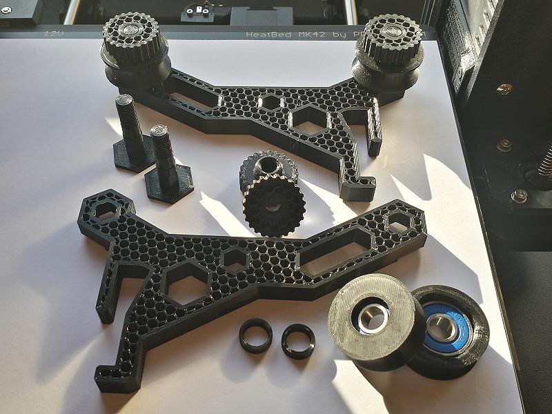 Soporte para Filamento. Impresión 3D Gilitadas