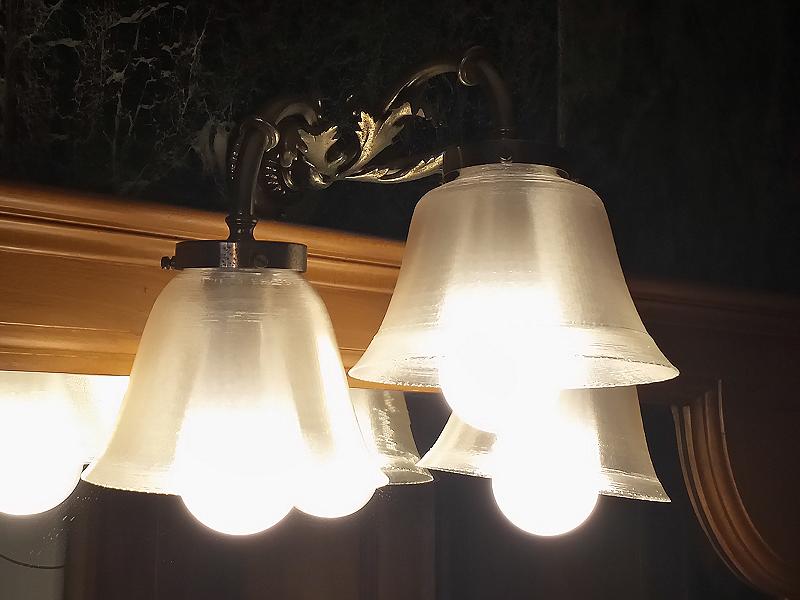 Tulipas para lámparas. Impresión 3D Gilitadas