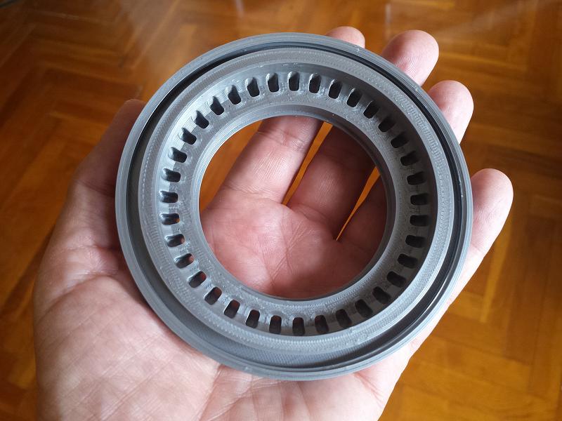 Carcasa motor brushless. Impresión 3D. Gilitadas