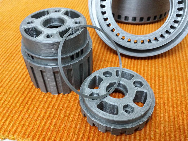 Motor brushless. Impresión 3D. Gilitadas