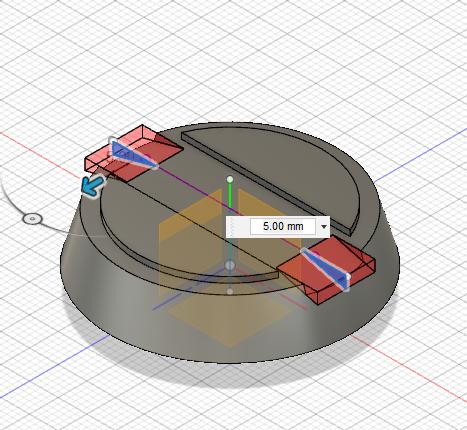 Diseño 3D. Cono para hélice plegable. Gilitadas