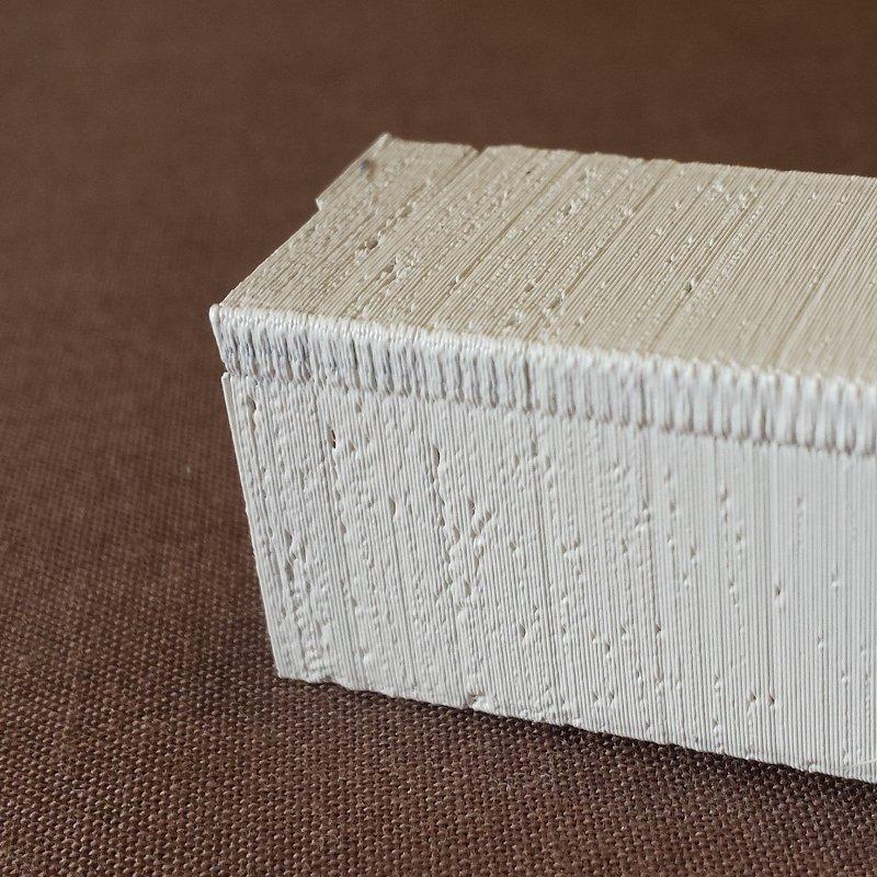 Defectos en impresión 3D. Exceso de temperatura, burbujas.