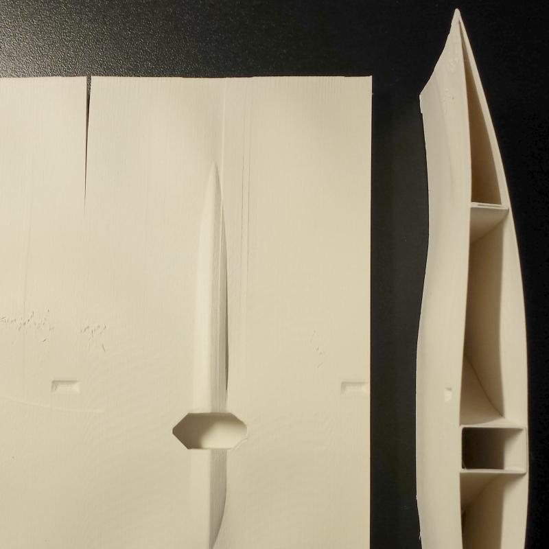 Defectos en impresión 3D. Delaminación entre capas