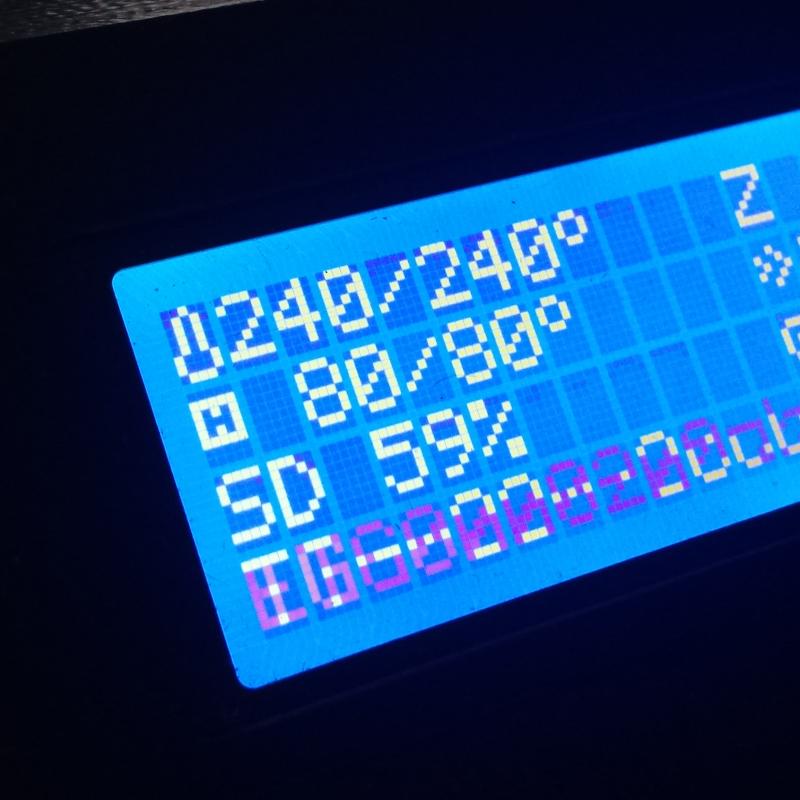 Temperaturas en impresión 3D. Gilitadas