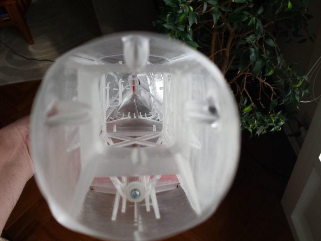 Avión RC impreso 3D, Spitfire Mk XVI de 3DLabPrint. Gilitadas